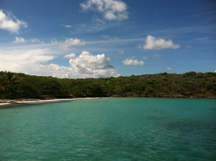Just remembering the blue green waters...