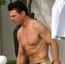 We have most recently seen him in his Mission Impossible series.  A well known and gifted actor with a fantastic physique.